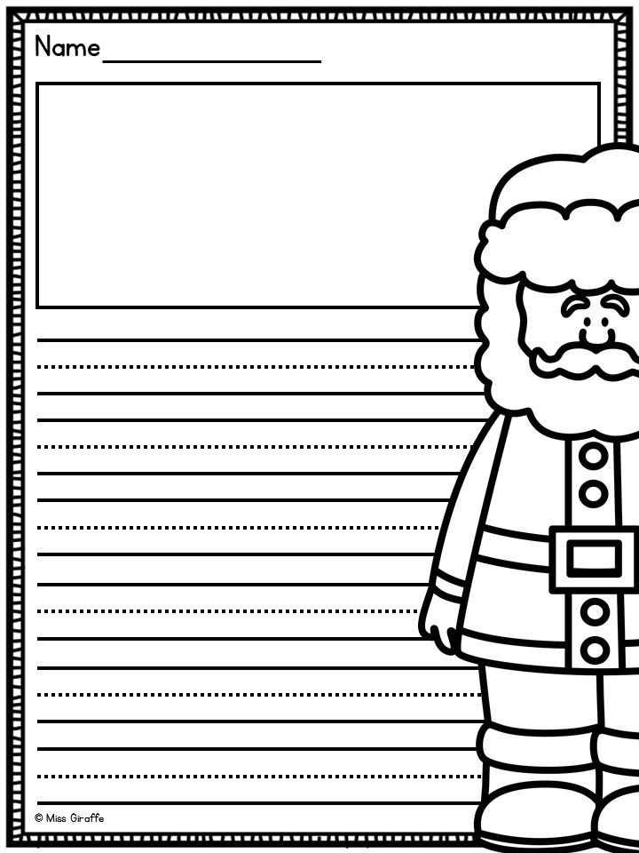 Free Christmas printables!! | Writing Ideas | Pinterest | Free ...