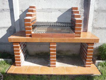 Hornos artesanos de obra barbacoa asadores de for Fogones rusticos en ladrillo