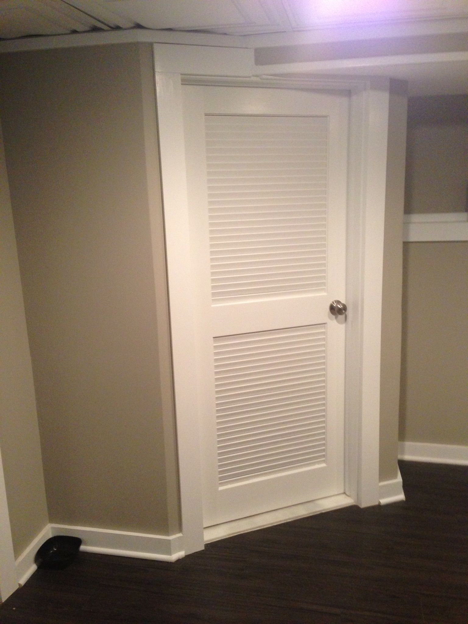 Louvered Door For Master Bedroom To Keep Cats Out At Night But