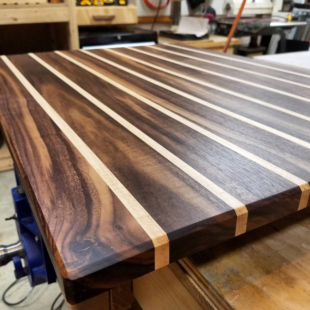 I Use This Cutting Board Periodically Sometimes You Start Out Making A Simple Walnut And Maple