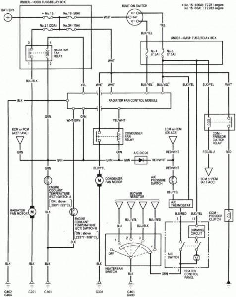 97 Accord Wiring Diagram