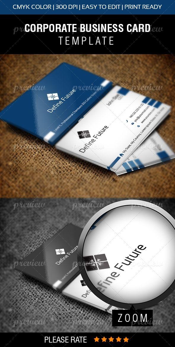 Define Future Vol-1 Business Card | Print | Pinterest | Business ...