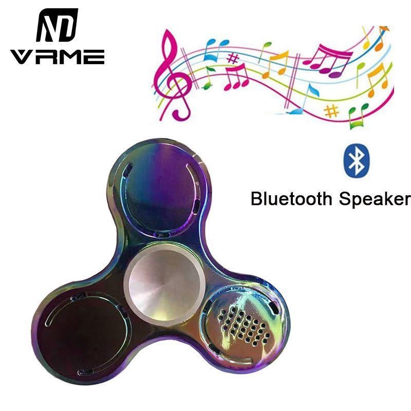Metal Wireless Bluetooth Speaker Fid Spinner