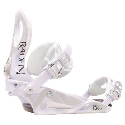 Raiden Lynx 2012: Bekannt und bewährt geht auch die Lynx in eine neue Saison. Wer glaubt es bliebe alles beim Alten hat sich gründlich getäuscht. Mit einem neuen Chassis, neuer Dämpfung, schmal geschnittenen Ankle-Straps und offenen Toe-Straps hat man bei der neuen Lynx noch mehr Komfort. Ein asymmetrisches Highback welches speziell für Frauen angepasst wurde sorgt für eine bessere Druckverteilung. Mit dem weicheren Flex und den ganzen Neuerungen ist die Lynx zu einer richtigen Waffe…