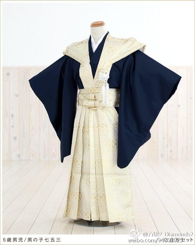 #和服##裃#男性正装,由肩衣和袴构成,...
