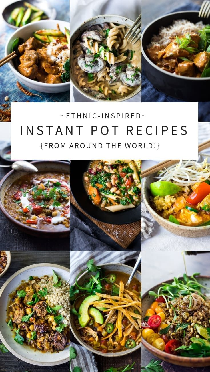 Ethnic-Inspired Instant Pot Recipes from Around the World! images