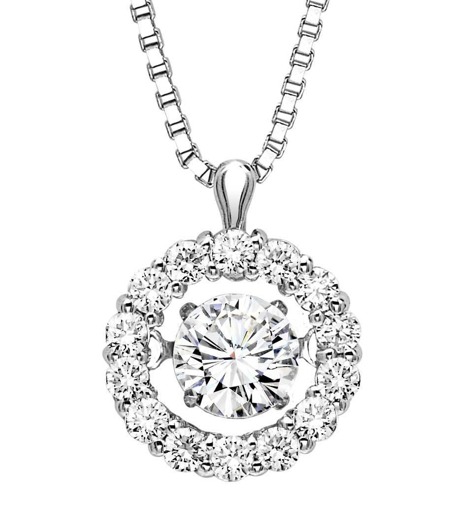 Vibrating Diamond Necklace Home Jewelry Rhythm Of