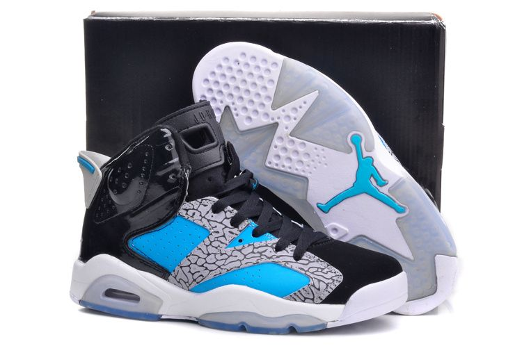 Air Jordan 6/VI Retro GS Customs - Baskets Nike Air Jordan Pas Cher Pour
