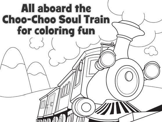 Choo Choo Soul Coloring And Create Music For Kids Disney Junior