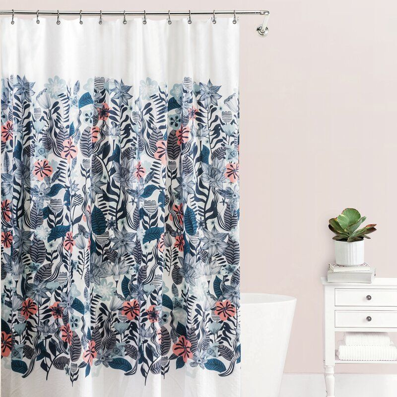 Stromsburg Fabric Single Shower Curtain Fabric Shower Curtains
