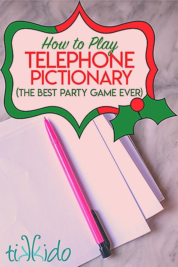 Photo of Telephone Pictionary: The BEST party game for Adults and kids!