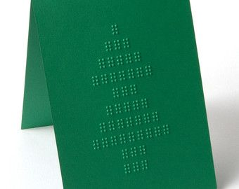 braille christmas cards