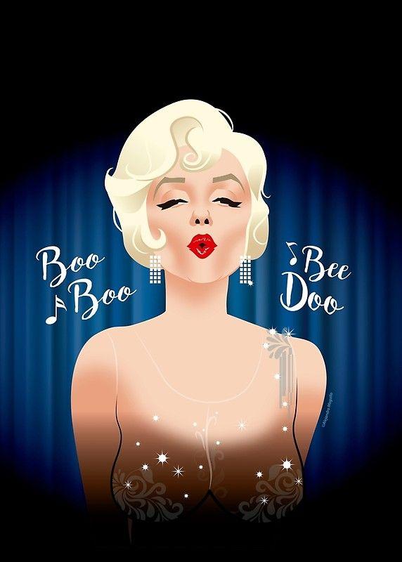 Marilyn Monroe by Alejandro Mogollo | Marilyn... | Pinterest ...