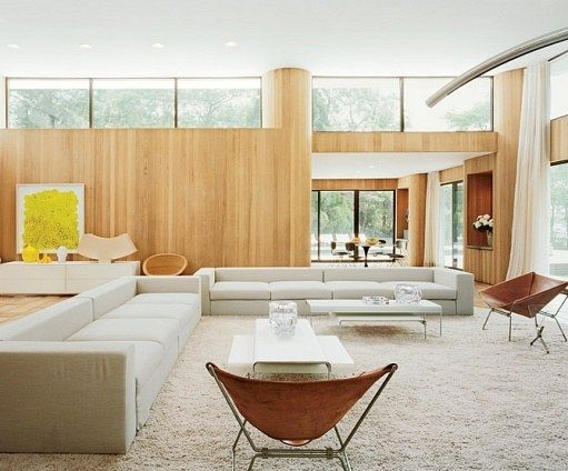 Living Room Design Ideas  High Windows Architectural Digest And Captivating Living Room Window Design Ideas 2018