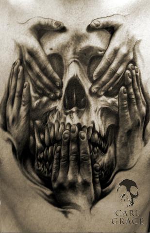 Hear No Evil See No Evil Tattoo Designs Men 3d Car Tuning Evil Tattoo Evil Tattoos Skull Tattoo Design