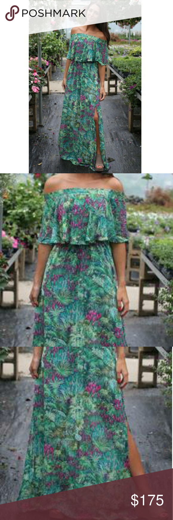 abe441abb8 Show Me Your Mumu Rainforest Cafe Hacienda Maxi Grab the girls and head to  brunch in this Hacienda Maxi Dress. Maxi silhouette. Floral print  throughout.