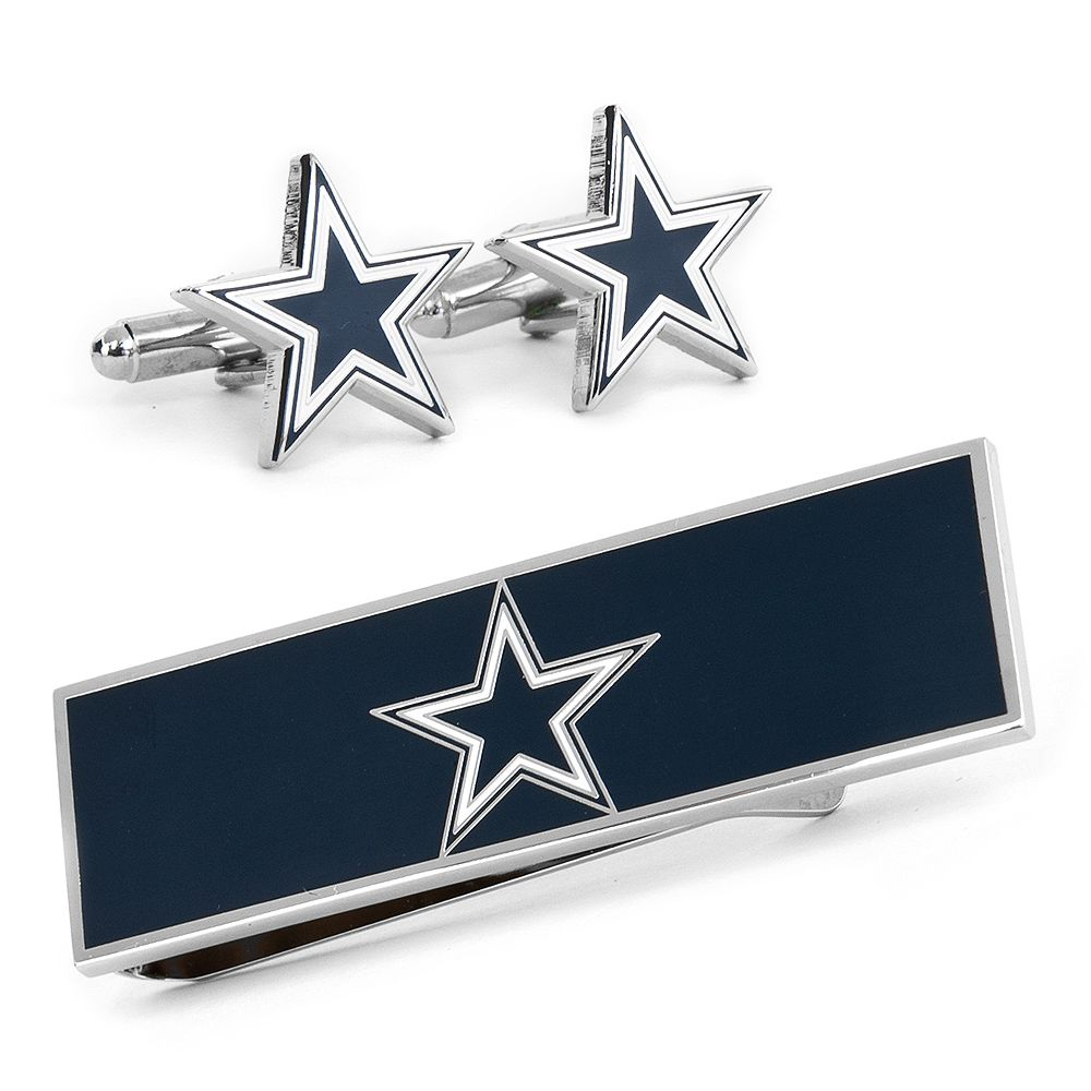 Dallas Cowboys Cufflinks and Money Clip Gift Set | Father's Day ...
