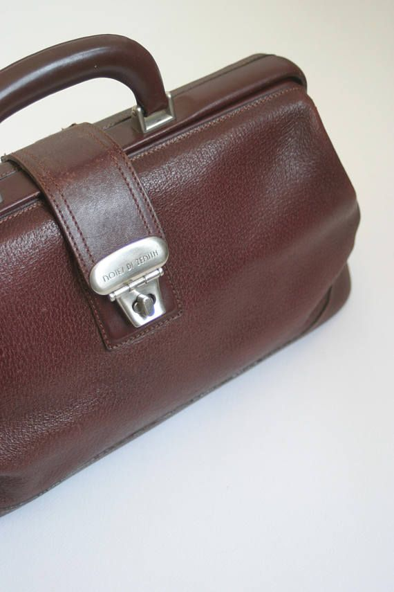 8efc91f0 80s Zenith Vintage Burgundy Red color genuine leather travel bag ...