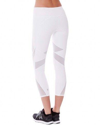 cca405a422510f Sweaty Betty - Power 7/8 Mesh Leggings - white | Extracurriculars ...