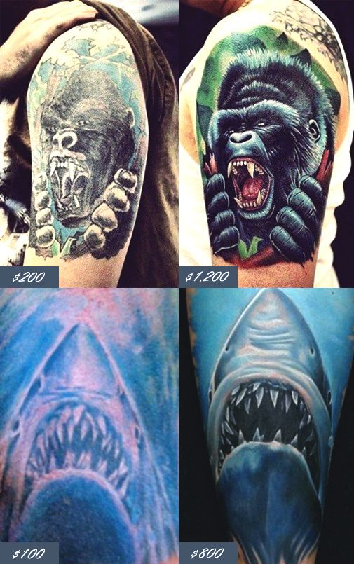 How Much Do Tattoos Cost Tattoo Prices 101 Tattoo Prices
