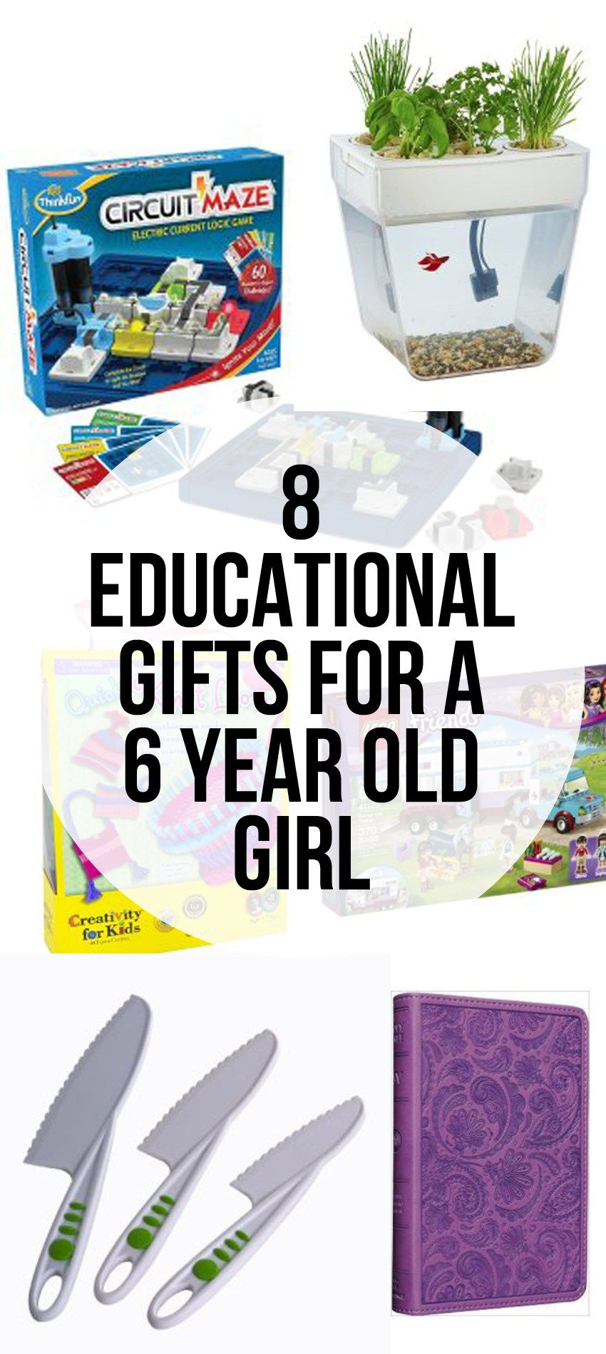 8 Educational Gift Ideas For A 6 Year Old Girl