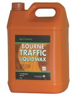 Natural Bourne Traffic Liquid Wax For Floors Top Sellers