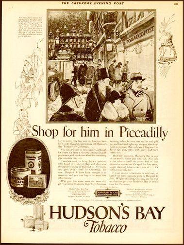 Hudson's Bay Tobacco