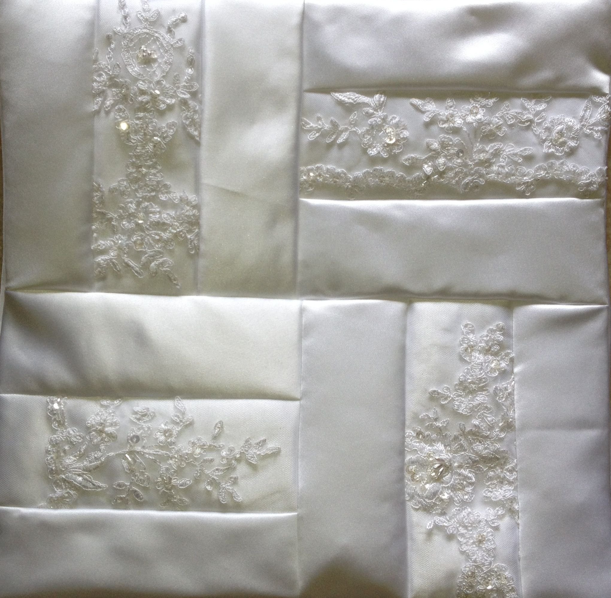 Recycled Wedding Gowns: Quilts Using Old Wedding Dress - Google Search