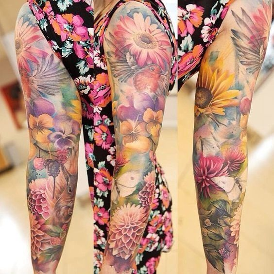 Can you tell if it is fabric or the skin? These sleeve tattoos will blow your mind