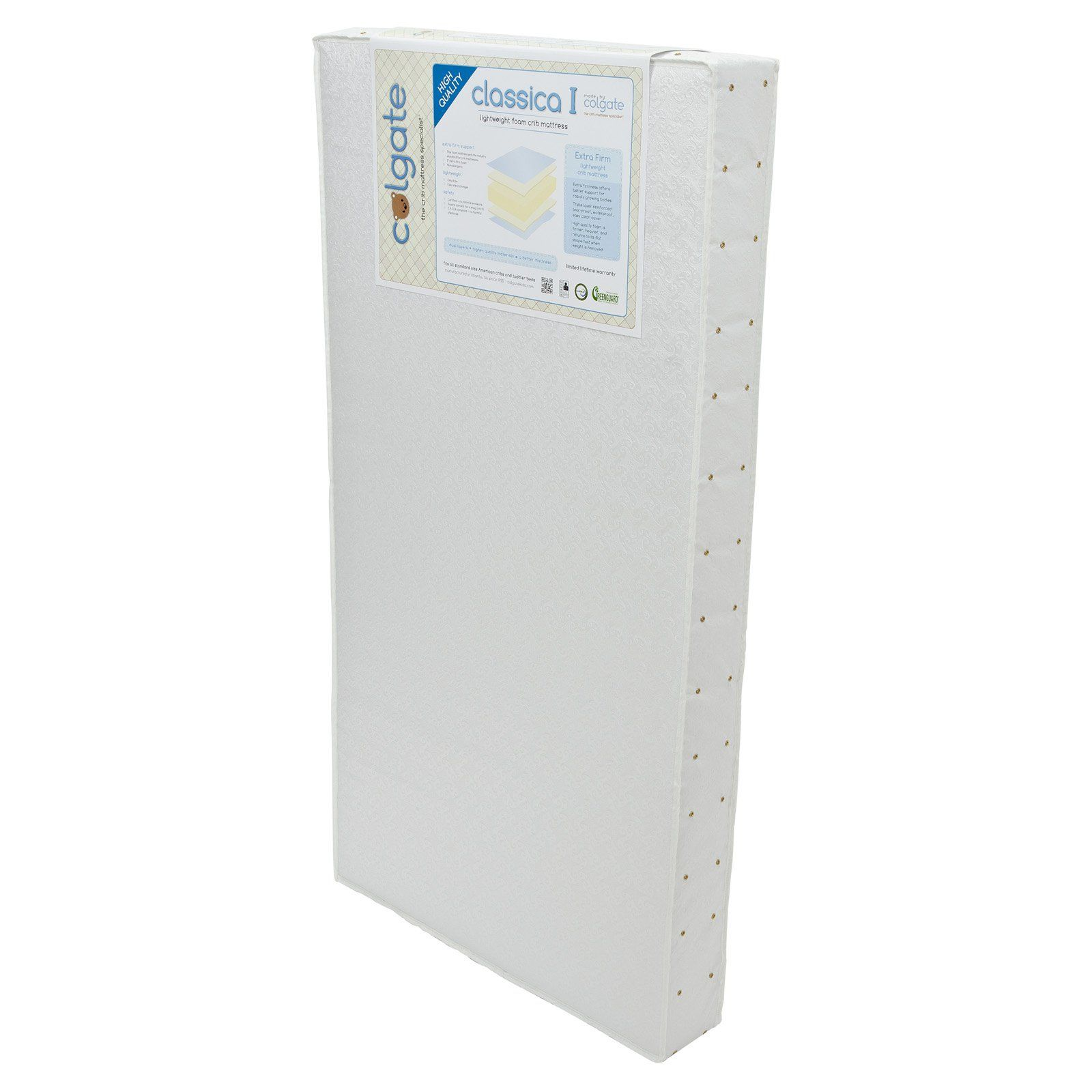 colgate classica i foam crib mattress hc515 237f products
