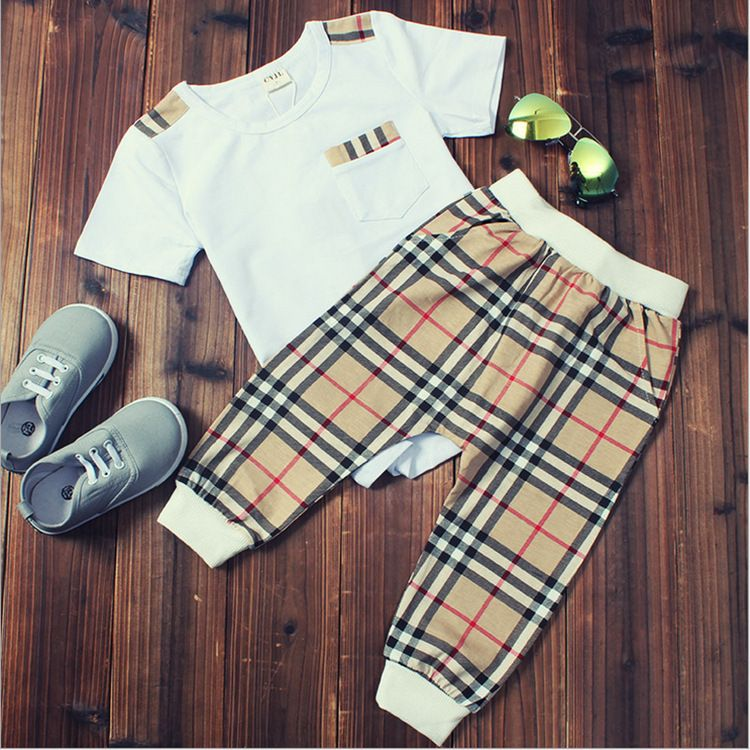 Burberry Inspired Two Piece Set Stylishkidsapparel Pinterest