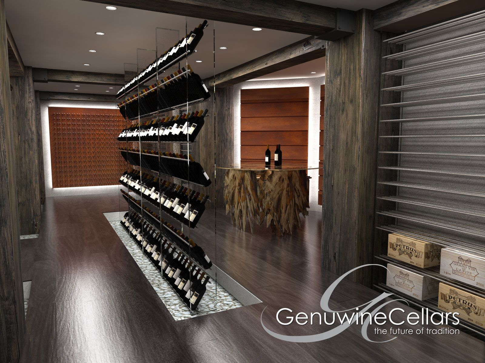 Render Service - Wine Cellar - Dream Home - Luxury