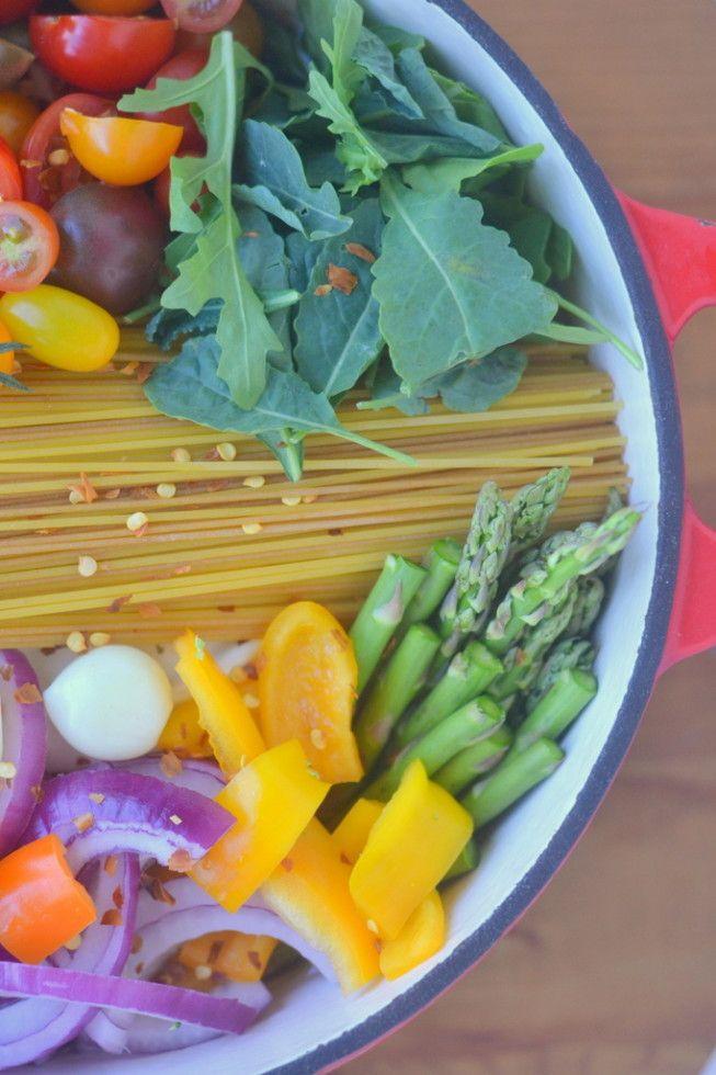 One Pot Farmer's Market Pasta 2