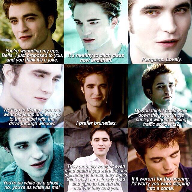 Edward S Book Quotes Twilight Saga Twilight Funny Twilight Facts