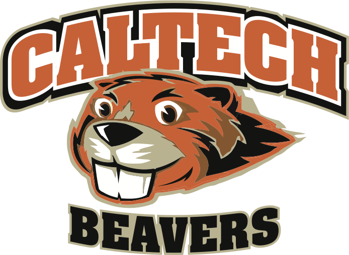 California Institute Of Technology Beavers Ncaa Division Iii Southern California Intercollegiate Athletic Conference Pasadena Sports Logo Beaver Beaver Logo