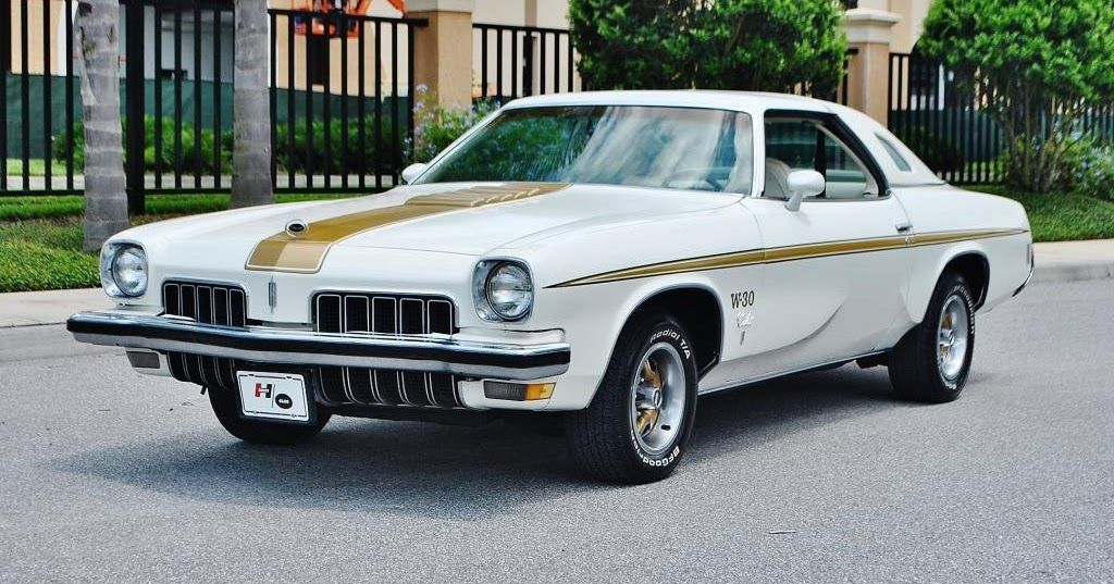 1973 Oldsmobile Hurst/Olds W30 455 V8 With Swivel Bucket