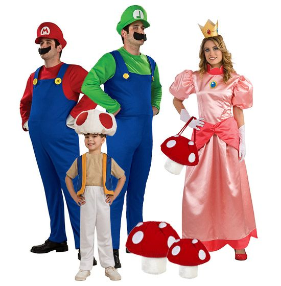 super mario brothers halloween costumes you can be the life of the party with one - Halloween Costume For Brothers