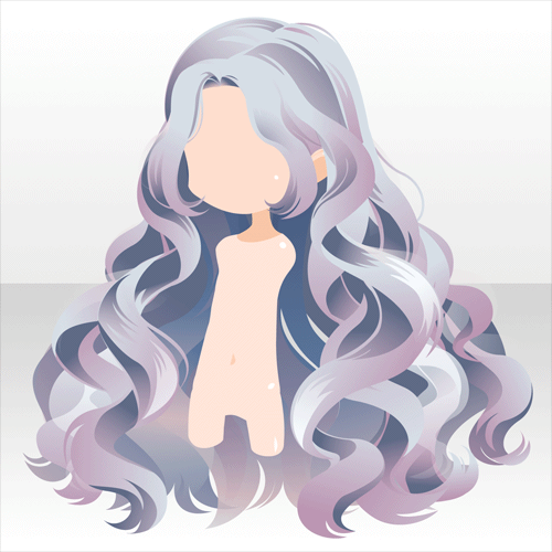 Girl Hairstyle Reference: Elegant Perfume|@games -アットゲームズ- Long Anime Hair Reference