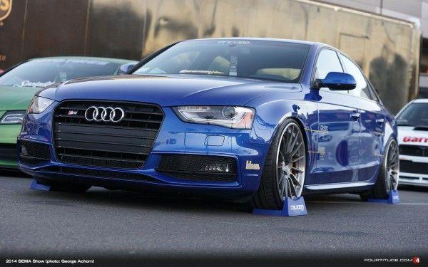 Sema 2014 Tag Motorsports Audi S4 Fourtitude Com Audi S4 Audi Audi S4 Modified