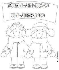 Resultado De Imagen De Invierno Para Colorear Actividades De Invierno Para Ninos Invierno Preescolar Dibujos De Invierno