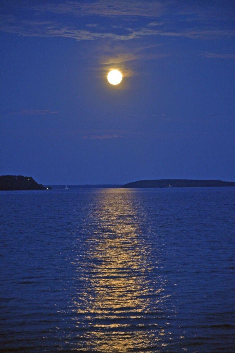 Michael S Photos Image Moonlight Photography Beautiful Moon Moon Photography Hd wallpaper sea moon water reflection