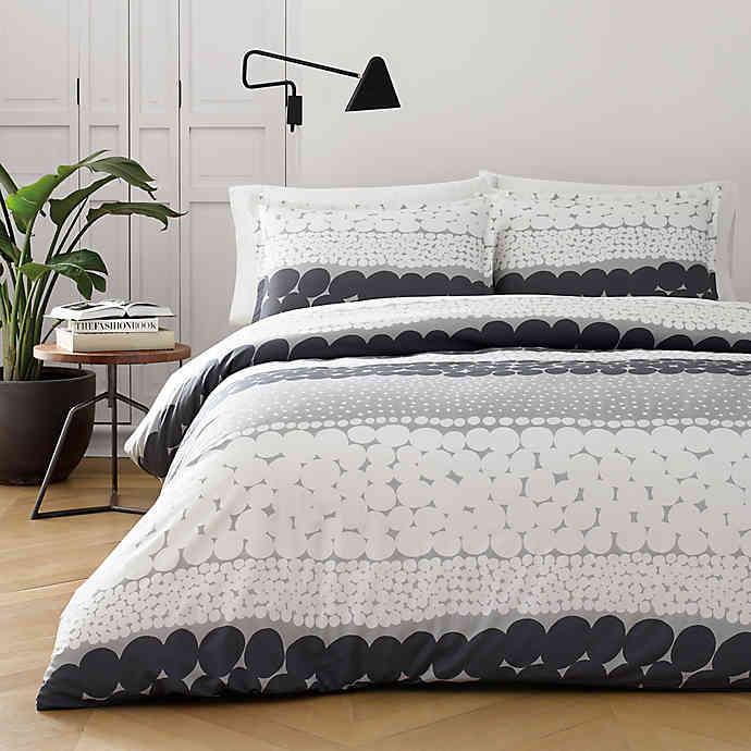 Marimekko Jurmo Duvet Cover Set Comforter Sets Duvet Cover Sets King Duvet Cover Sets