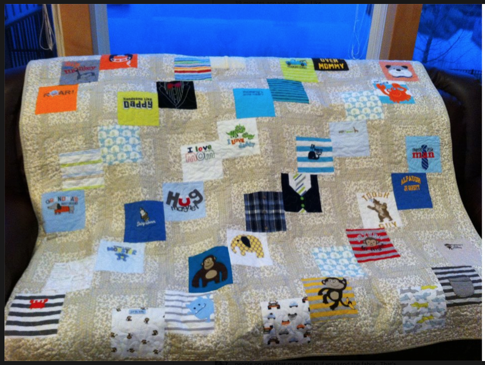Baby Clothes Quilt Idea Monster Stuff Pinterest Baby Clothes
