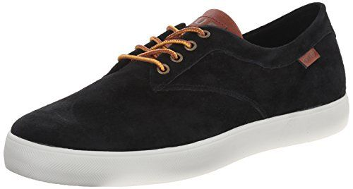 HUF Skateboard Shoes SUTTER BLACK/TAN Size 8.5 - http://on-line-kaufen.de/huf/8-5-d-m-us-huf-skateboard-shoes-sutter-black-tan