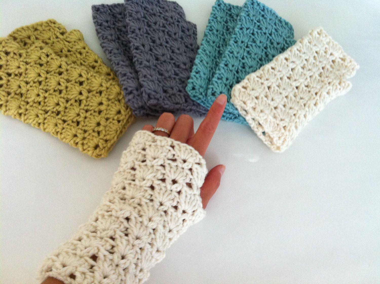 Crochet shells fingerless gloves crochet wrist warmer fingerless crochet shells fingerless gloves crochet wrist warmer fingerless gloves lace fingerless gloves dt1010fo