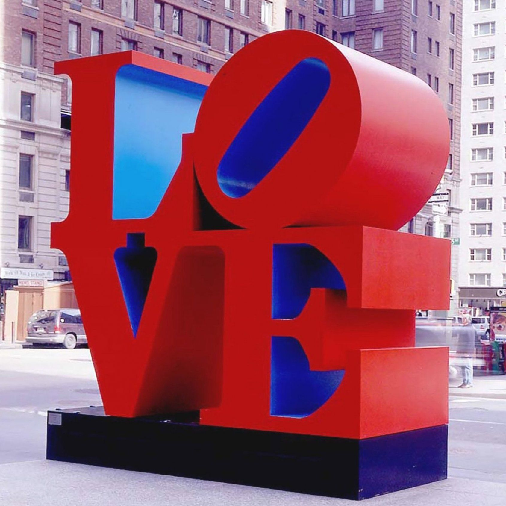 Love  Sixth Avenue of New York  by Robert Indiana  an American costume designer  painter  sculptor  and stamp designer associated with the Pop Art movement  The most popular pieces of his career are the series made with the word LOVE  #PoppingFridayInArtHouse #FindingMusesInArtHouse #art #artcollector #artist #artlife #artlovers #artwork #contemporaryart #creative #love #manhattan #modernart #nyc #robertindiana #sculpture #visualart #       #       #