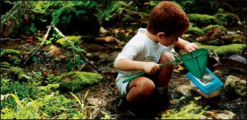 50 ways to get kids hooked on outdoors - great list!