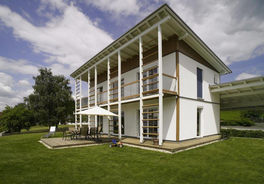 Wohnideen Holzhaus fertighaus mit pultdach 10 haus und wohnideen griffner