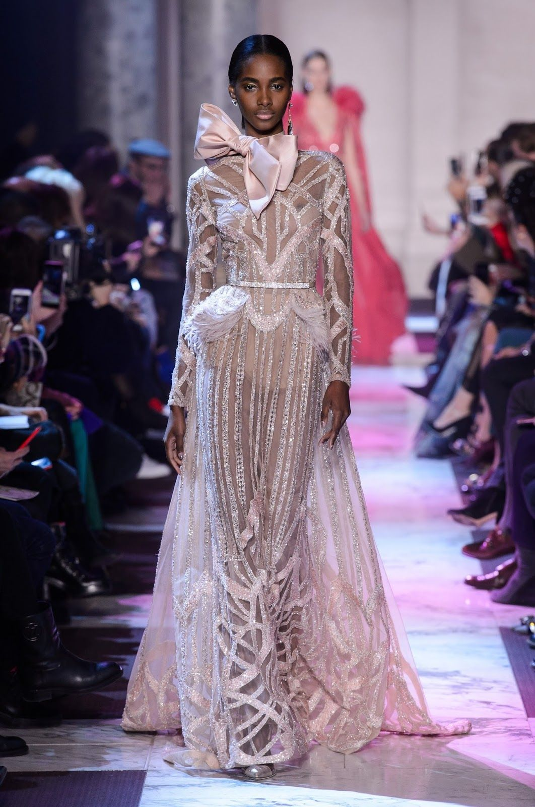 273b7e46e914 Gorgeous Couture Gowns: Elie Saab - More haute couture glamour from luxury  gown designer Elie Saab. Dreamy pastel gowns in lavender, blue, blush and  peach ...