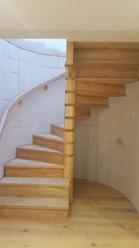 Best Bespoke Wooden Spiral Staircases Staircase Stairs 400 x 300